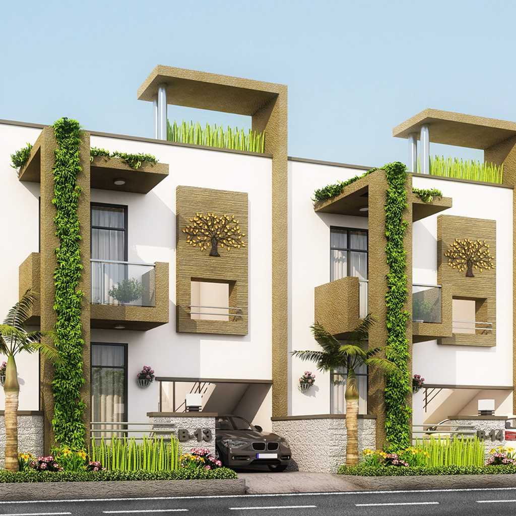 3D Exterior architectural rendering services