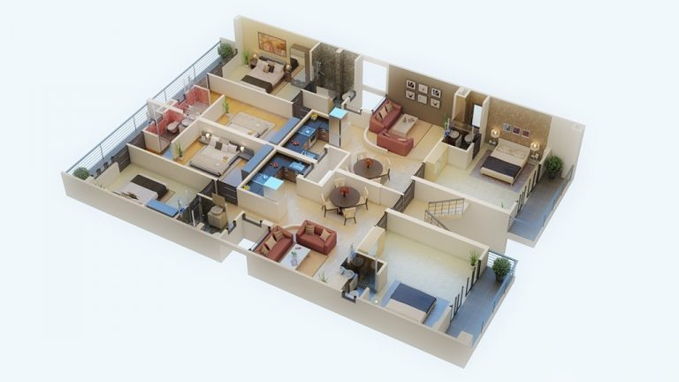 3d floor plan visualization1