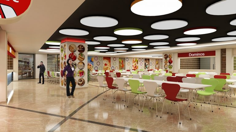 interior design food court