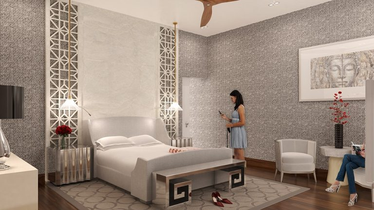 interior visualization master bedroom