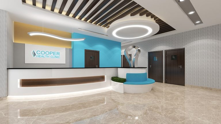 3d interior rendering services cooper clinic