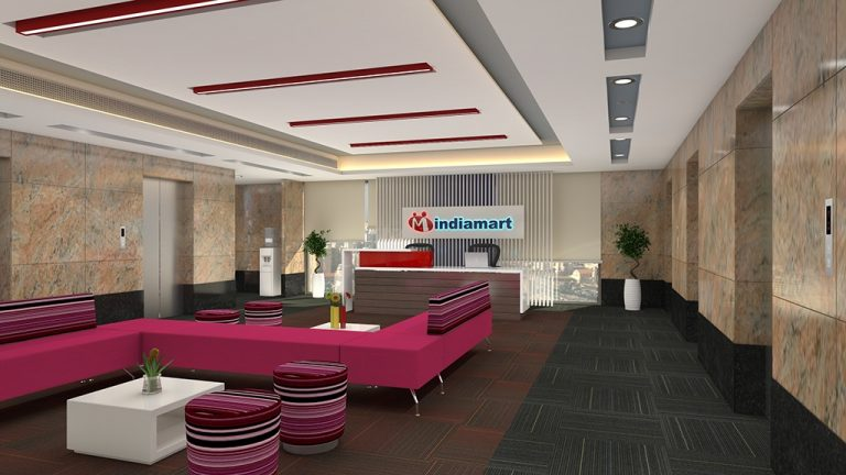 3d interior rendering services India mart reception