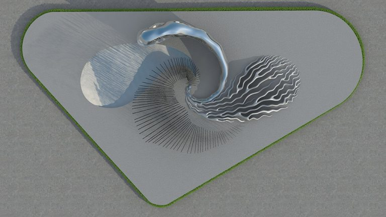 Product-modeling_Celestial_Dream_Island_Top_View