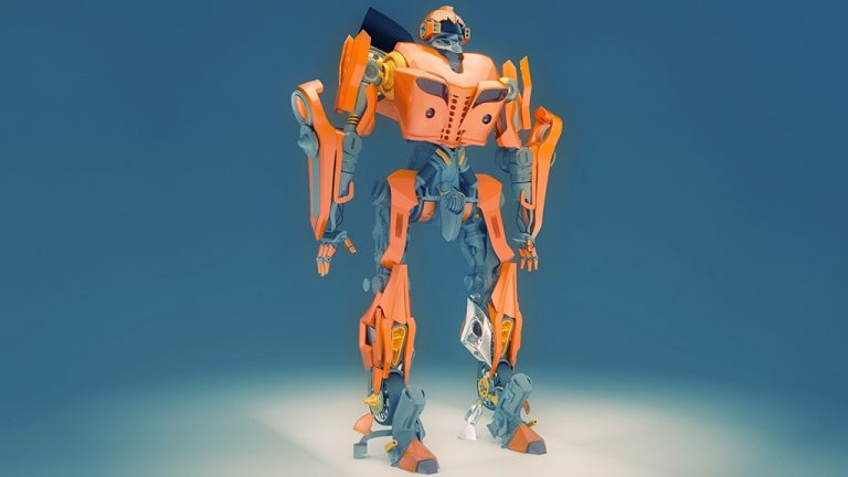 3d product modeling Bumblebee_